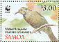 Greater Wattled Honeyeater Foulehaio carunculatus  2009 WWF Sheet with 2 sets