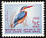 African Pygmy Kingfisher Ispidina picta  1961 Definitives