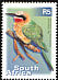 White-fronted Bee-eater Merops bullockoides  2000 7th definitive series 27v set