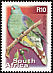 African Green Pigeon Treron calvus  2000 7th definitive series 27v set