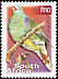 African Green Pigeon Treron calvus  2001 7th definitive series p 13