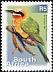 White-fronted Bee-eater Merops bullockoides  2002 7th definitive series p 13