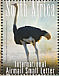 Common Ostrich Struthio camelus  2008 The big 5 of birds Sheet with 2 sets