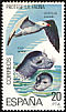 Audouin's Gull Ichthyaetus audouinii  1978 Protection of the environment 5v set