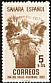 Common Ostrich Struthio camelus  1952 Colonial stamp day