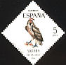 Lappet-faced Vulture Torgos tracheliotos  1974 Stamp day