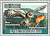 Morepork Ninox novaeseelandiae  2007 Owls and prey Sheet