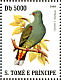 Sao Tome Green Pigeon Treron sanctithomae  2007 Birds Sheet