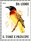 Giant Weaver Ploceus grandis  2007 Birds Sheet