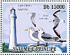 Black-legged Kittiwake Rissa tridactyla  2009 Lighthouses and birds Sheet