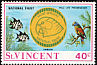 St. Vincent Amazon Amazona guildingii  1971 National Trust 4v set
