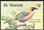 Lesser Antillean Tanager Tangara cucullata  1989 Birds of St Vincent