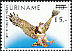 Harpy Eagle Harpia harpyja  1993 Surcharge on 1986.03