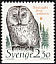 Ural Owl Strix uralensis  1989 Animals in threatened habitats 6v booklet