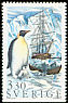Emperor Penguin Aptenodytes forsteri  1989 Polar research 6v booklet
