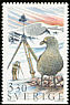 South Polar Skua Stercorarius maccormicki  1989 Polar research 6v booklet
