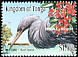 Pacific Reef Heron Egretta sacra  2001 Year of the mangrove 5v set