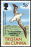 Tristan Albatross Diomedea dabbenena  1982 Overprint 1ST PARTICIPATION... on 1977.01