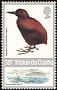 Inaccessible Island Rail Atlantisia rogersi  1987 Island flightless insects and birds 4v set