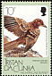 Tristan Thrush Turdus eremita  1988 Fauna of Nightingale Island 5v set