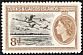 American Flamingo Phoenicopterus ruber  1955 Definitives Queen at right