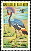 Black Crowned Crane Balearica pavonina  1979 Protected birds
