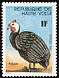 Helmeted Guineafowl Numida meleagris  1981 Stock breeding 5v set