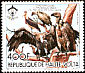 Marabou Stork Leptoptilos crumenifer  1984 Protected animals 6v set