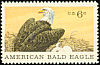 Bald Eagle Haliaeetus leucocephalus  1970 Natural history 4v set