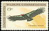 California Condor Gymnogyps californianus  1971 Wildlife conservation 4v set