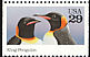 King Penguin Aptenodytes patagonicus  1992 Wild animals 5v booklet