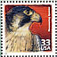 Peregrine Falcon Falco peregrinus  2000 Celebrate the century 15v sheet