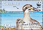 Beach Stone-curlew Esacus magnirostris  2009 WWF Sheet with 2 sets