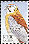 American Kestrel Falco sparverius  1999 Flora and fauna 10v set