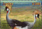 Grey Crowned Crane Balearica regulorum  2001 Animals of Africa 6v sheet