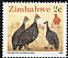 Helmeted Guineafowl Numida meleagris  1990 Definitives