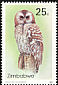 African Wood Owl Strix woodfordii  1993 Owls