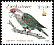 Brown-necked Parrot Poicephalus fuscicollis  2000 Definitives 6v set